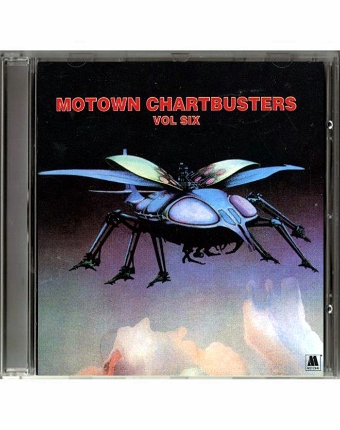 CD - MOTOWN CHARTBUSTERS (VOLUMEN 6) - USADO