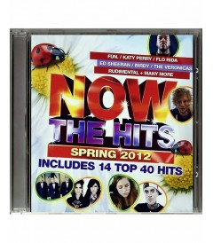 CD - NOW THE HITS SPRING 2012 - USADO