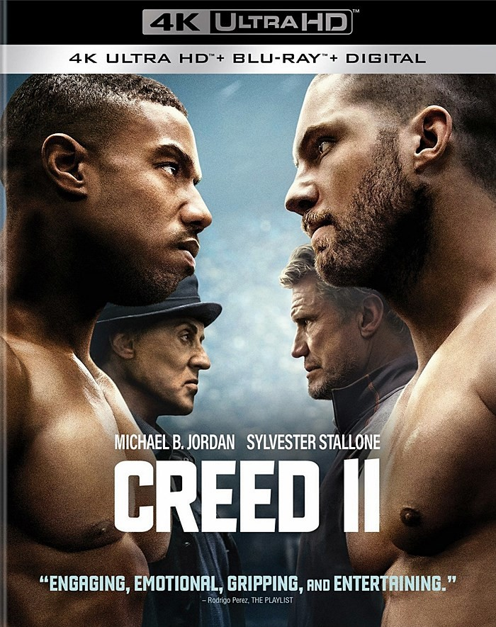 4K UHD - CREED II (DEFENDIENDO EL LEGADO) - PRE VENTA