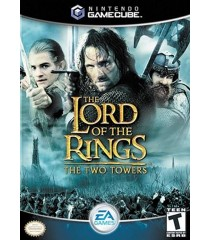 NINTENDO GAMECUBE - THE LORD OF THE RINGS (THE TWO TOWERS) - USADO