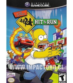 NINTENDO GAMECUBE - THE SIMPSONS (HIT & RUN) - USADO