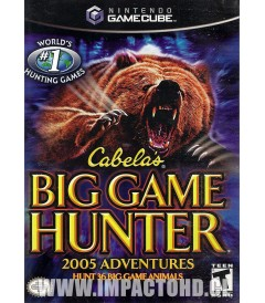 NINTENDO GAMECUBE - CABELAS BIG GAME HUNTER (2005 ADVENTURES) - USADO