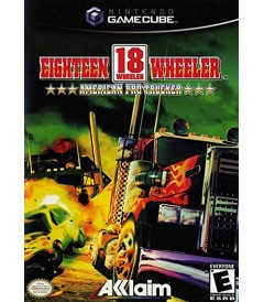 NNTENDO GAMECUBE - EIGHTEEN WHEELER (AMERICAN PRO TRUCKER) - USADO