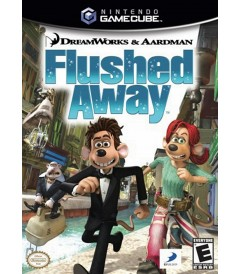 NINTENDO GAMECUBE - FLUSHED AWAY - USADO