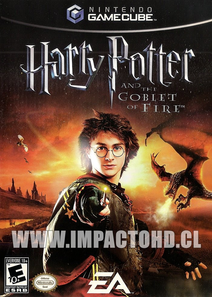 NINTENDO GAMECUBE - HARRY POTTER AND THE GOBLET OF FIRE - USADO
