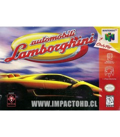 N64 - AUTOMOBILI LAMBORGHINI - USADO
