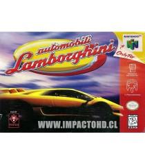 N64 - AUTOMOBILI LAMBORGHINI - USADO EN CAJA ORIGINAL