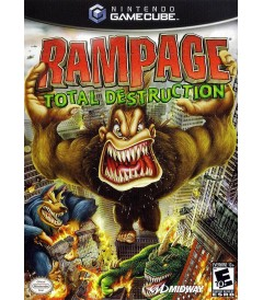 NINTENDO GAMECUBE - RAMPAGE (TOTAL DESTRUCTION) - USADO
