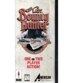 3DO - THE LAST BOUNTY HUNTER - USADO