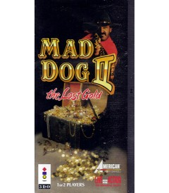 3DO - MAD DOG II (THE LOST GOLD) - USADO