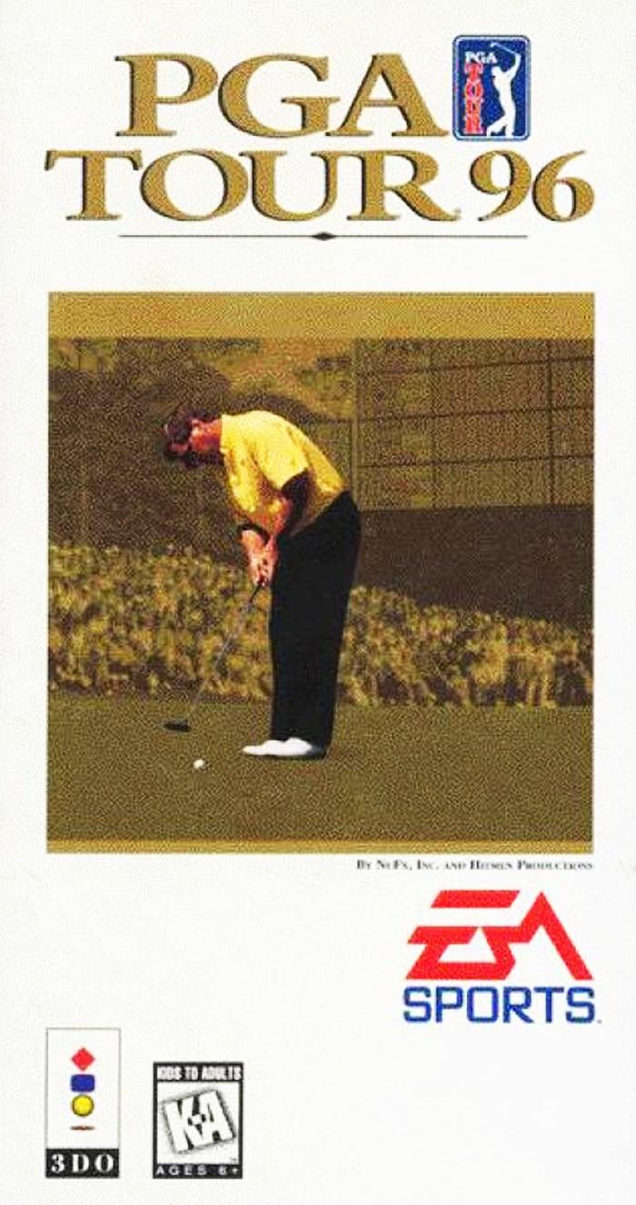 3DO - PGA TOUR 96' - USADO