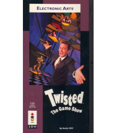 3DO - TWISTED THE GAME SHOW - USADO