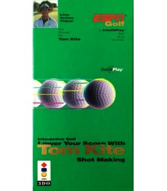 3DO - ESPN GOLF (LOWER YOUR SCORE WITH TOM KITE SHOT MAKING) - USADO