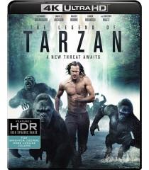 4K UHD - LA LEYENDA DE TARZAN