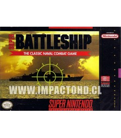 SNES - SUPER BATTLESHIP - USADO