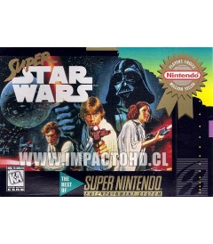 SNES - SUPER STAR WARS - USADO