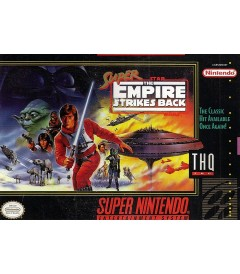 SNES - SUPER STAR WARS (THE EMPIRE STRIKE BACK) - USADO