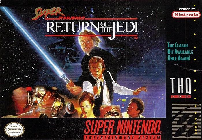SNES - SUPER STAR WARS (RETURN OF THE JEDI) - USADO