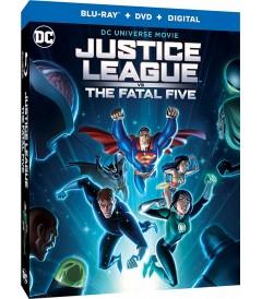 DC ANIMADA - LIGA DE LA JUSTICIA VERSUS LOS CINCO FATALES (Blu-ray Sin Español)