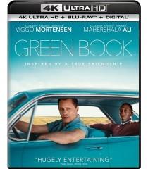 4K UHD - GREEN BOOK (UNA AMISTAD SIN FRONTERAS) - PRE VENTA