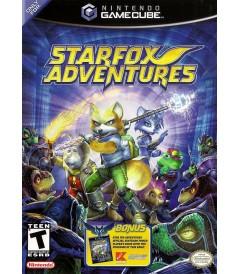 NINTENDO GAMECUBE - STARFOX ADVENTURES - USADO