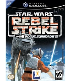NINTENDO GAMECUBE - STAR WARS REBEL STRIKE (ROGUE SQUADRON III) - USADO