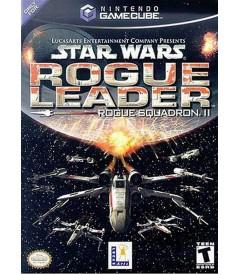 NINTENDO GAMECUBE - STAR WARS ROGUE LEADER (ROGUE SQUADRON II) - USADO