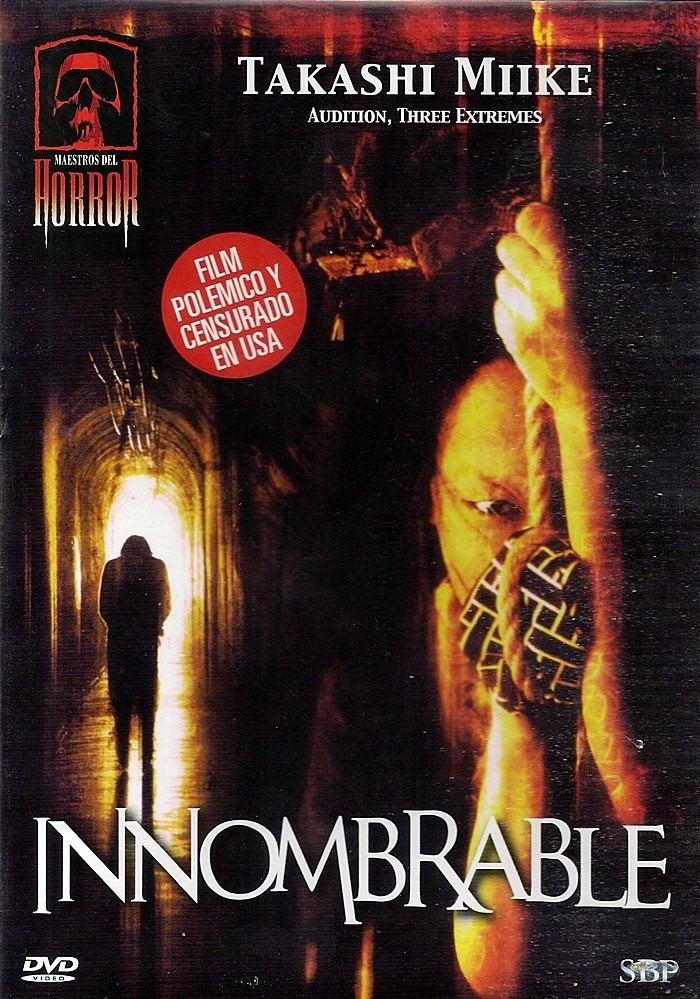 DVD - INNOMBRABLE (MAESTROS DEL HORROR) - USADA