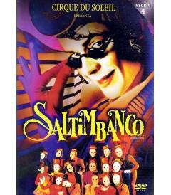 DVD - CIRQUE DU SOLEIL (SALTIMBANCO) - USADA