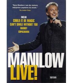 DVD - MANILOW LIVE! - USADA