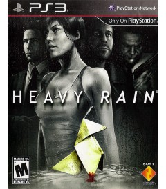 PS3 - HEAVY RAIN - USADO