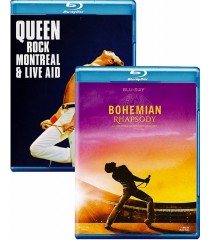BOHEMIAN RHAPSODY / QUEEN - ROCK MONTREAL & LIVE AID (PACK DOBLE)