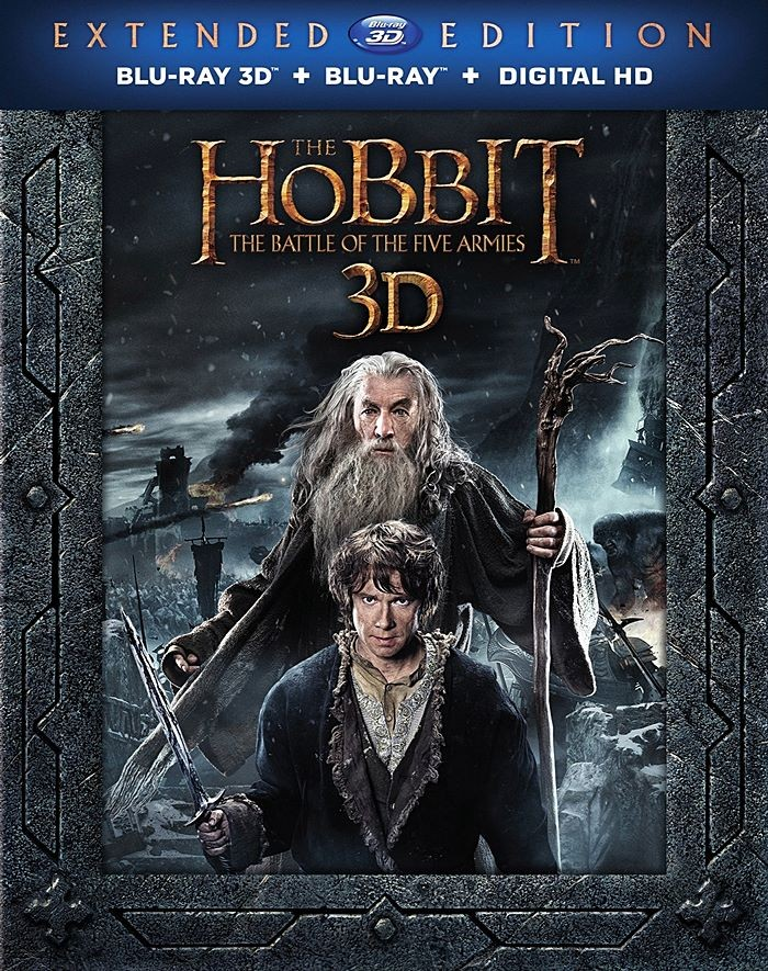 3D - EL HOBBIT (LA BATALLA DE LOS CINCO EJÉRCITOS) (EDICIÓN EXTENDIDA)