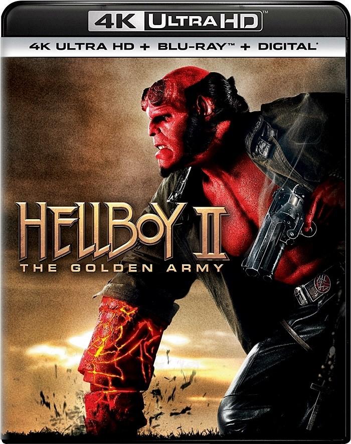 4K UHD - HELLBOY II (EL EJÉRCITO DORADO) - PRE VENTA
