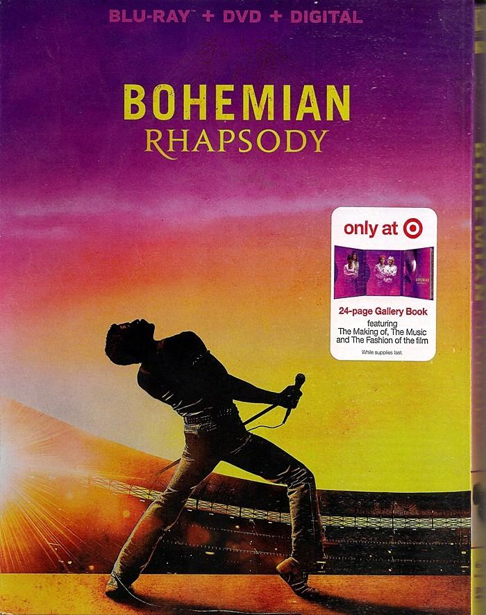 BOHEMIAN RHAPSODY (LA HISTORIA DE FREDDIE MERCURY) (EDICIÓN EXCLUSIVA TARGET)