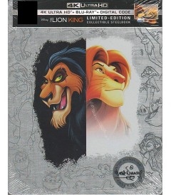 4K UHD - EL REY LEÓN (EDICIÓN LIMITADA EXCLUSIVA STEELBOOK BEST BUY)