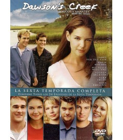 DVD - DAWSONS CREEK - 6° TEMPORADA COMPLETA