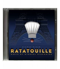 CD - RATATOUILLE (ORIGINAL SOUNDTRACK) - USADO