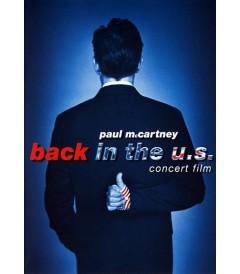 DVD - PAUL McCARTNEY (BACK IN THE U.S.) - USADA