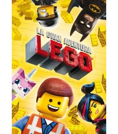 DVD - LA GRAN AVENTURA LEGO - USADA