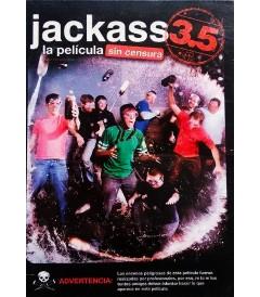 DVD - JACKASS 3.5 LA PELÍCULA (SIN CENSURA) - USADA