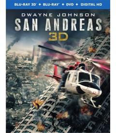 3D - TERREMOTO (LA FALLA DE SAN ANDRÉS) - USADA
