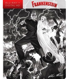 FRANKENSTEIN (STEELBOOK EXCLUSIVO DE BEST BUY) (ALEX ROSS ART) - USADA