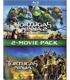 TORTUGAS NINJA / TORTUGAS NINJA 2 FUERA DE LAS SOMBRAS (PACK 2 PELÍCULAS) (*)