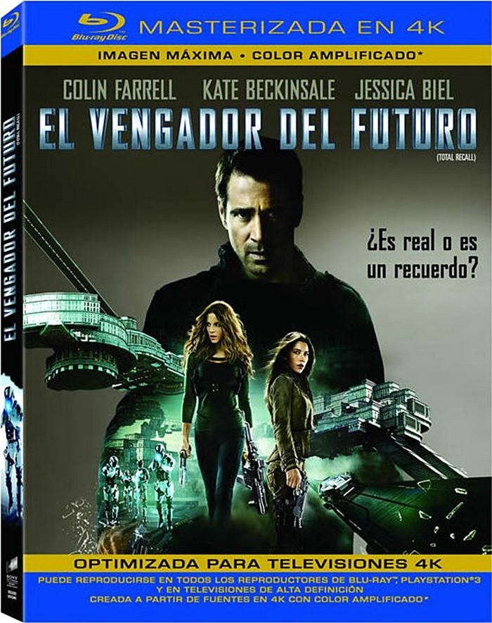 EL VENGADOR DEL FUTURO 2012 (EDICIÓN REMASTERIZADA 4K)