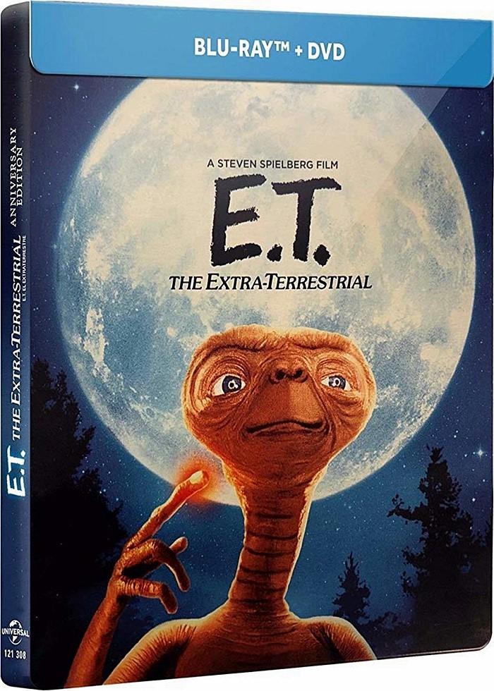 E.T. EL EXTRATERRESTRE (EDICIÓN ESPECIAL STEELBOOK) (*)