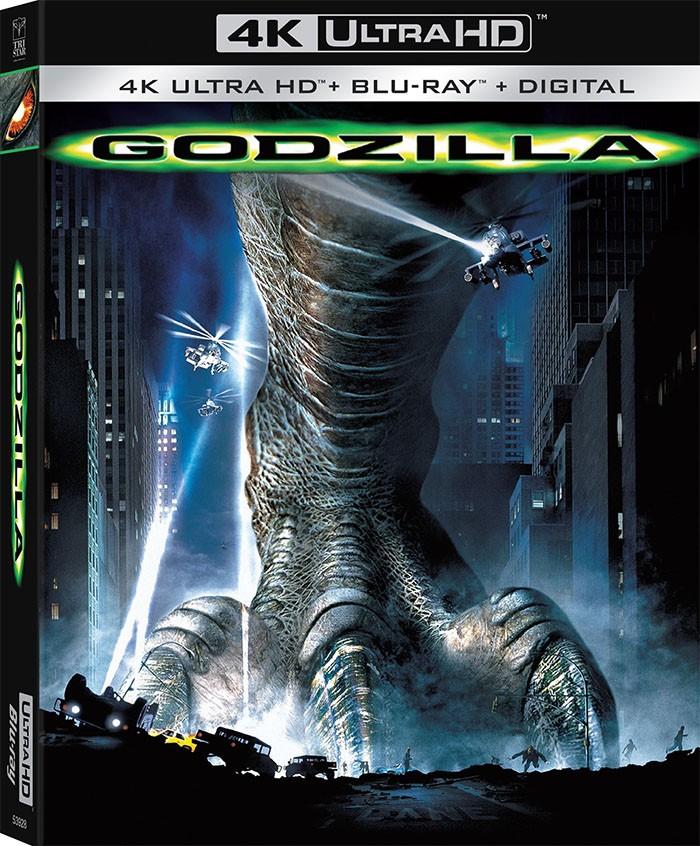 4K UHD - GODZILLA (1998)