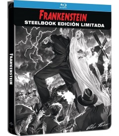 FRANKENSTEIN (EDICIÓN ESPECIAL STEELBOOK) (ALEX ROSS ART)