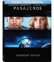 PASAJEROS (EDICIÓN ESPECIAL STEELBOOK)