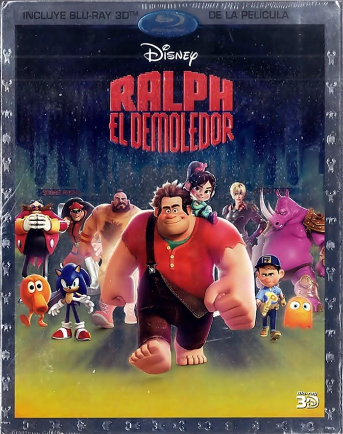 3D - RALPH EL DEMOLEDOR (*)